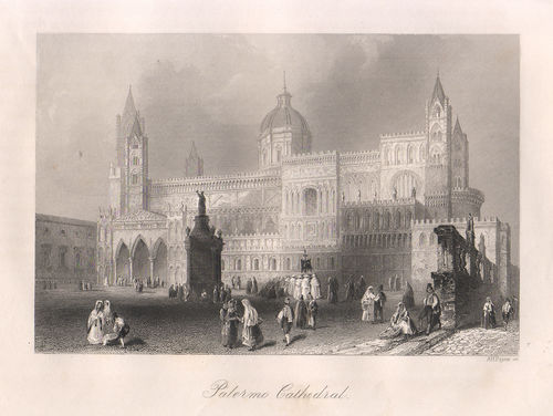 Palermo, Cattedrale, 1840