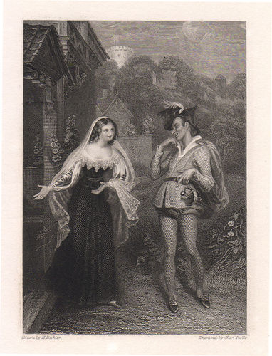 Allegre comari di Windsor, Shakespeare, 1850