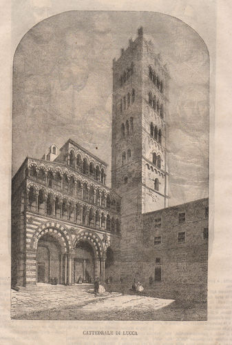 Lucca, 1865, Cattedrale
