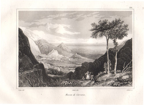 Massa Carrara, 1835