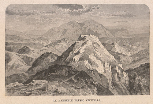 Civitella, Le Mammelle, 1877 ​