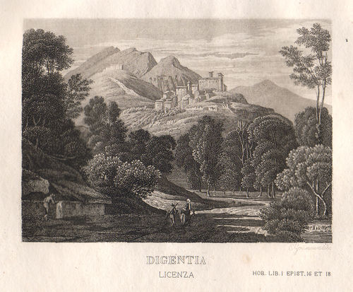 Licenza, 1829