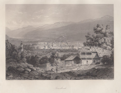 Innsbruck, W.French, 1840-50
