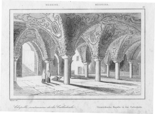 Messina, Cattedrale, 1835