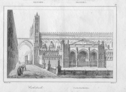 Palermo, Cattedrale, 1835