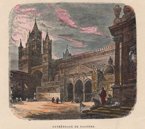 Palermo, Cattedrale, 1877 ​