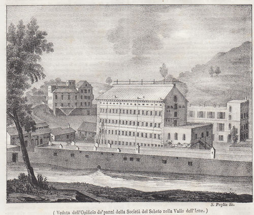 Valle dell'Irno, Salerno, 1840