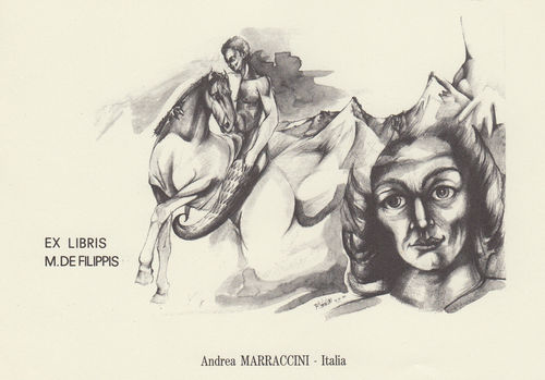 Marraccini Andrea exlibris