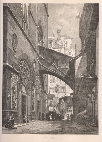 Firenze, Or San Michele, 1877