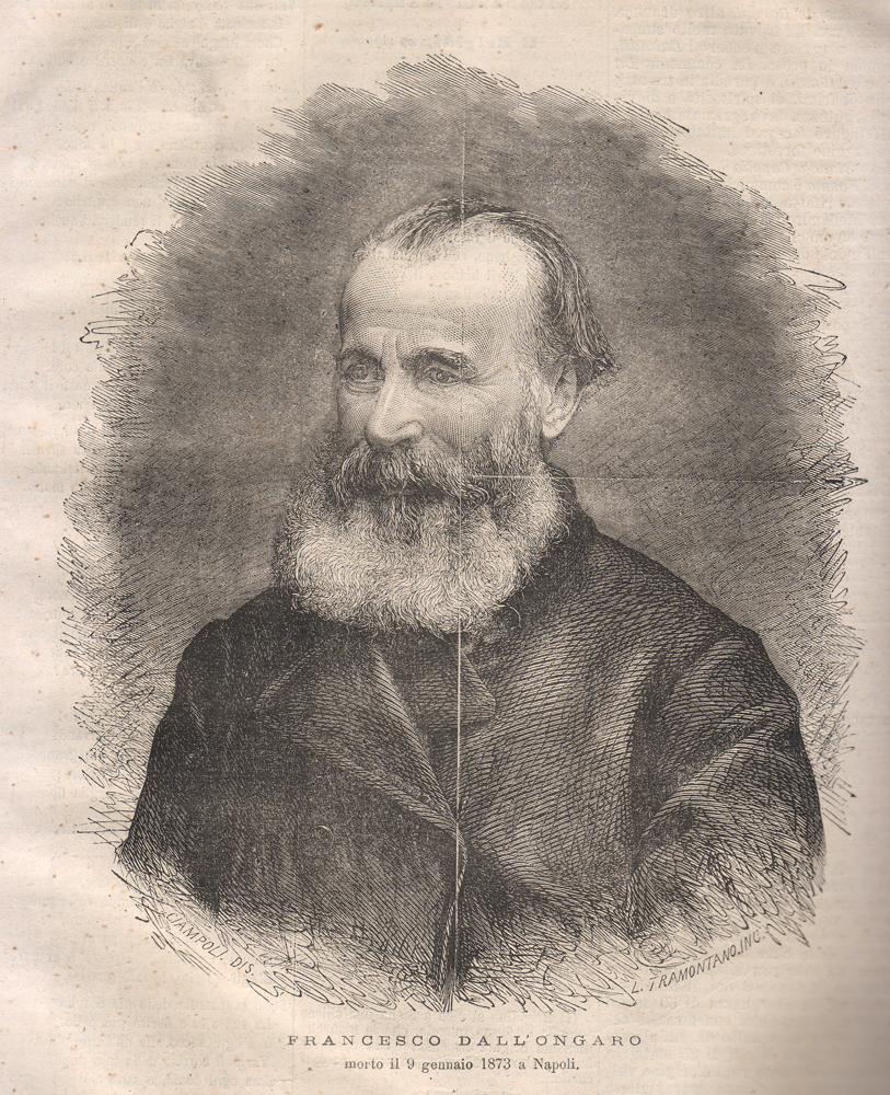 Ritratto di Francesco Dall'Ongaro