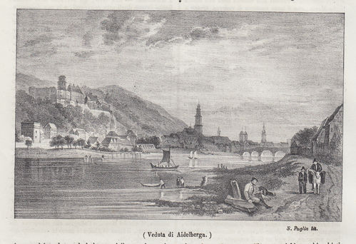 Heidelberg, Germania, 1842