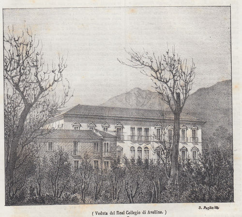 Avellino, Real Collegio, 1842