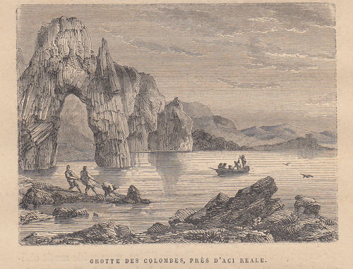 Acireale, Grotte delle colombe, 1889