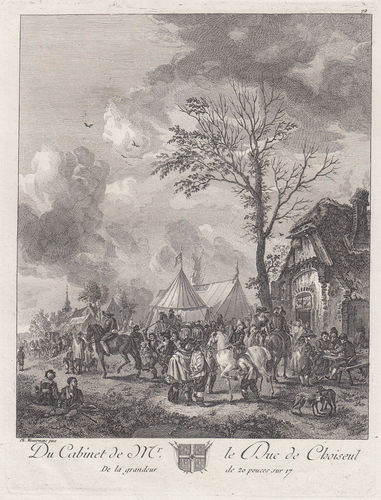Philips Wouwerman, Basan, 1771