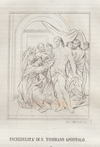 Incredulità di S.Tommaso, 1839