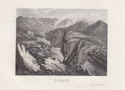 Pindus, Grecia, C.Frommel, 1829