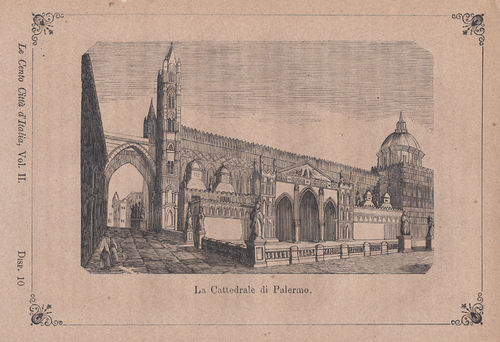 Palermo, Cattedrale, 1871