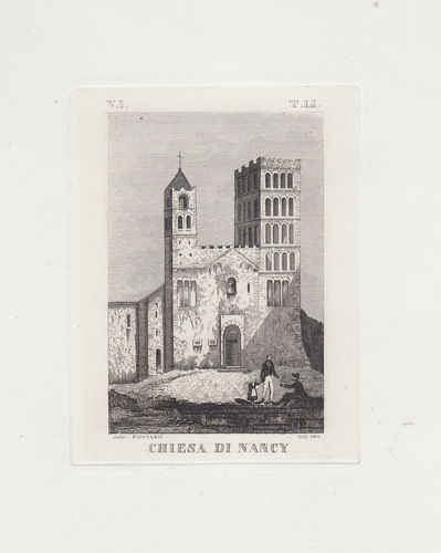 Saverio Pistolesi, Chiesa di Nancy, 1850