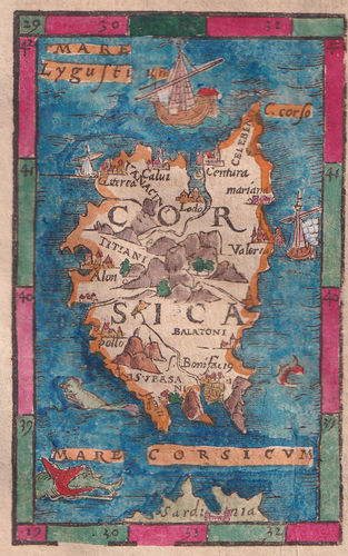 Corsica, S.Munster, 1614